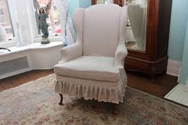 Oversized Reading Chair by Flower Design Wing Back Chair Slip Cover Design Wing Back Chair