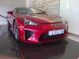 lexus lfa for sale south africa the 5 most expensive cars on junk mail that will your bank