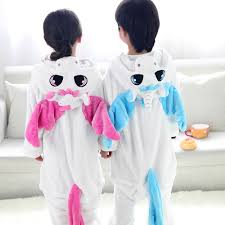 aliexpress com buy children animal onesie unicorn pajamas