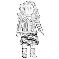 american doll coloring pages coloring pages free