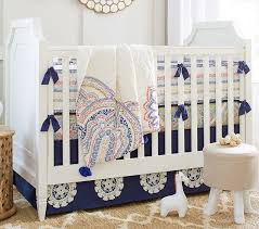 Baby Nursery Bedding Sets For Boys Penelope Bumper Pottery Barn