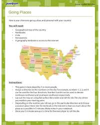 going places free geography worksheet for 4th grade lexi u0027s