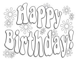 birthday coloring pages gif 4th birthday coloring pages