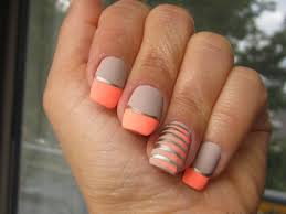 peach nail art designs gallery nail art designs