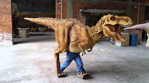 realistic costumes realistic dinosaur costume walking