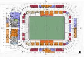 Map Of Usa With Compass Bbva Compass Stadium Populous Archdaily