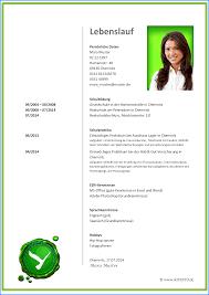 Lebenslauf Vorlage Excel 9 Lebenslauf Beispiel Business Template