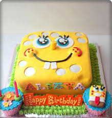 spongebob birthday cakes top ten spongebob cake ideas birthday express pertaining to