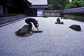 Ryoanji Rock Garden Zen Rock Garden Ryoanji Kyoto Japan Wayne Eastep