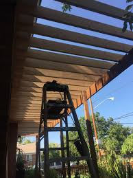 Pvc Pipe Pergola by Curb Appeal Facelift Part 4 Porch Pergola With Mister U2013 Designs