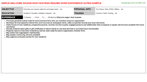 hostess resume exles ceo pay research paper homework help writing meta sle
