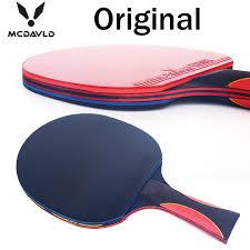 professional table tennis racket en kaliteli karbon yarasa masa tenisi kauçuk pingpong paddle kısa