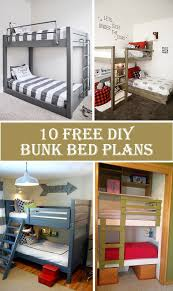 the 25 best bunk bed plans ideas on pinterest loft bunk beds