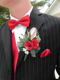 boutonniere prom alex and catie s baseball themed prom 2 sports roses your