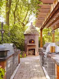 Outdoor Kitchen Designs With Pizza Oven by Best 25 Modern Outdoor Pizza Ovens Ideas On Pinterest Modern