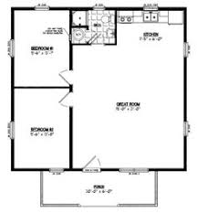 16 x 20 small house plans 6 pioneers cabin 16x20 on modern high resolution 30 x 30 house plans 2 20x30 house floor plans