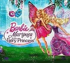 amazon buy barbie mariposa u0026 fairy princess dvd blu ray
