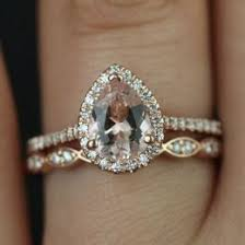 opal wedding ring sets morganite ring ideas collections