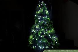 How To Decorate Outdoor Trees With Lights - 3 ways to clean an artificial christmas tree wikihow