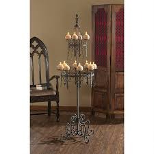 unique romantic medieval knights candelabra metal gothic candle
