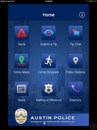 Austin Crime Map by Austin Police Department Unveils New App Kxan Com
