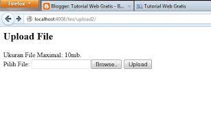Cara Membuat Form Upload File Dengan Php   cara membuat sistem upload file dengan php contoh sederhana