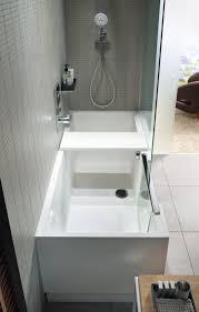 bathtub with shower shower bath by duravit design eoos