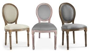 chaises medaillon lot 2 chaises médaillon louis xvi groupon