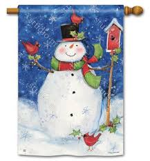 winter house flags u2013 decorative outdoor yard flags for your home