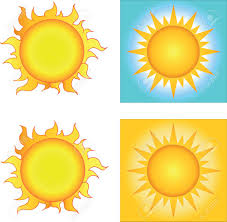 different sun designs collection royalty free cliparts vectors and
