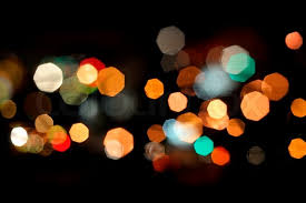 photo of bokeh lights on black background stock photo colourbox
