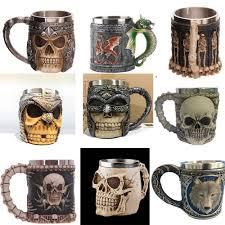 halloween drinking glasses skeleton mugs skull drinking glass halloween drinkware stainless