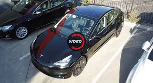 tesla model 3 looks very promising at first sight
