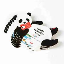 mini desk calendar 2017 2017 panda mini desk calendar