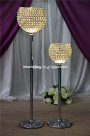 Tall Floor Standing Candelabra by Floor Standing Crystal Candle Holder With Led Light Decorative