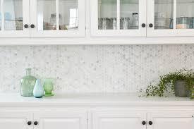 Marble Tile Kitchen Backsplash 7 Easy Steps To Install A Marble Hexagon Tile Kitchen Backsplash