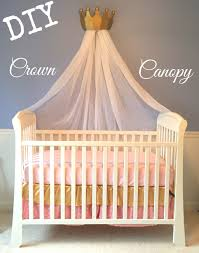 His And Hers Crown Wall Decor Diy Crown Canopy For A Crib Or Bed Fit For A Princess Eloise