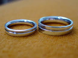 make your own wedding band make your own wedding rings grooved bands