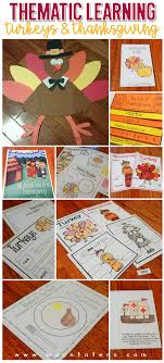 thanksgiving thematic unit craft graphic organizers