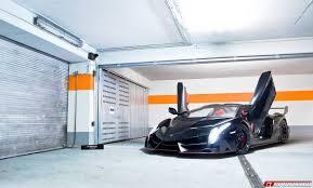 Lamborghini Veneno Black - black lamborghini veneno lp750 4 roadster front side angle doors