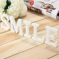 home decor letters a to z wood letter alphabet word free standing wedding party home
