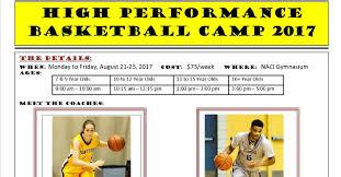 thanksgiving basketball camp neepawa basketball camps set for aug 21 25 for boys and girls ages