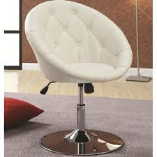 Tufted Dining Chair Dining Chairs And Bar Stools Contemporary Round Tufted White