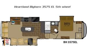 Outback Campers Floor Plans Bighorn 5th Wheels By Heartland Rv