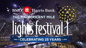 the lights fest ta 2017 the 25th annual bmo harris bank magnificent mile lights festival