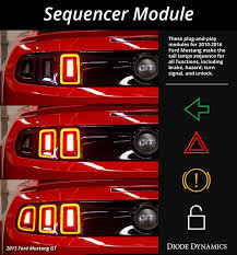sn95 mustang tail lights 10 16 ford mustang tail light sequencer diode dynamics