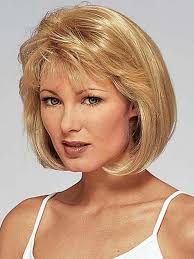 short hairstyles for women over 40 with round faces get the