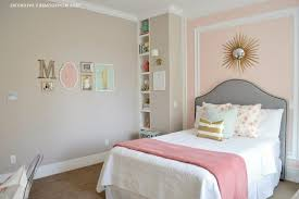Pink And Gold Bedroom by Sweet Pink And Gold Bedroom Design Solid Wood Makeup Table And