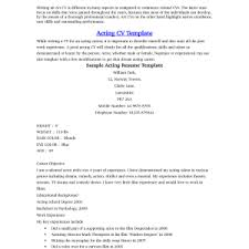 beginner resume template beginner cv template paso evolist co
