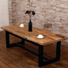 wood and wrought iron table wrought iron and wood coffee table coffee table reclaimed french